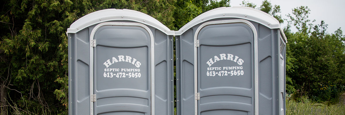 Portable Toilet Rentals | Harris Septic